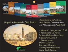 locandina presentazione a Palazzo Donn'Anna